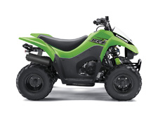 THE KFX50 ATV IS THE PERFECT FIRST ATV TO INTRODUCE NEW RIDERS SIX YEARS AND OLDER TO THE EXCITING FOUR-WHEEL LIFESTYLE.